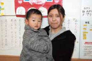 中島 美希さん(1歳の男の子のママ)